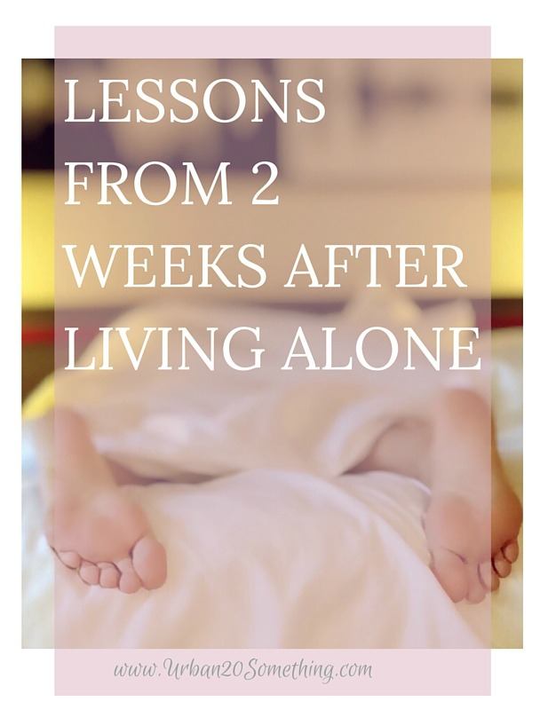 They say living alone is something everyone should do once in their life. After moving to Manhattan at age 18, I sort of thought that it would never happen. But alas, it has! Click through to read my thoughts and lessons from the first two weeks of living alone. #adult.