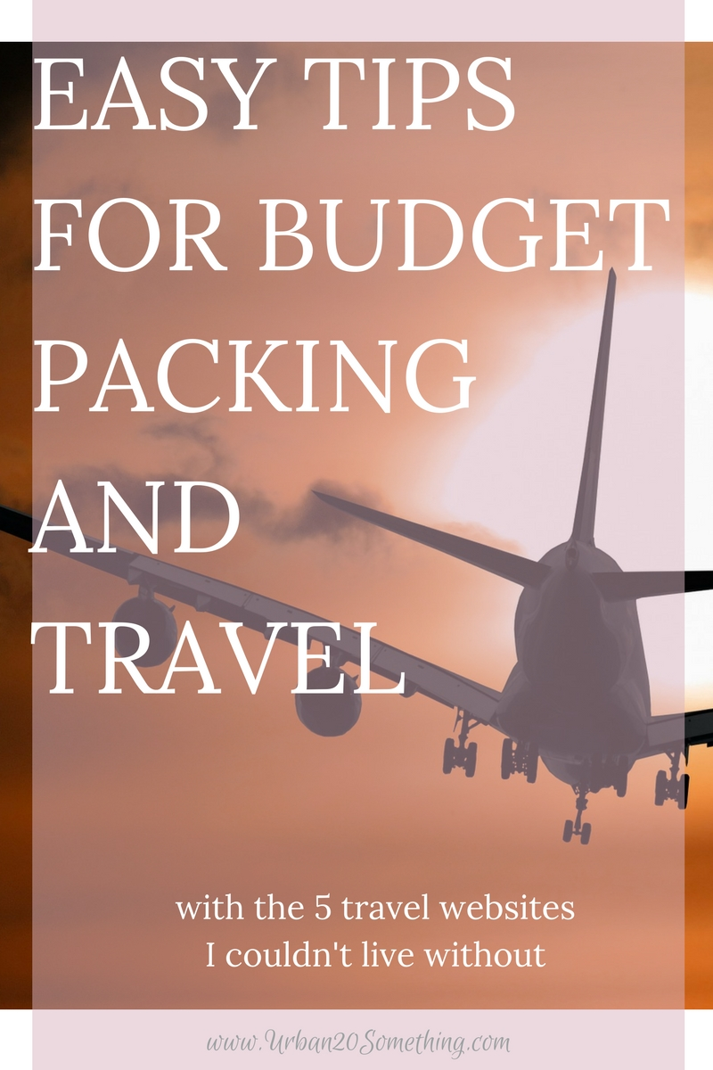 It's no secret that traveling can add up quickly. Don't let that stop you from experiencing the world! Here's my top tips on how to budget when packing and get cash back on your travel essentials. Plus, my top tips on staying frugal without traveling while STILL having an incredible vacation. My top 5 budget travel websites I couldn't live without and how I use them. Click through and it's all yours!