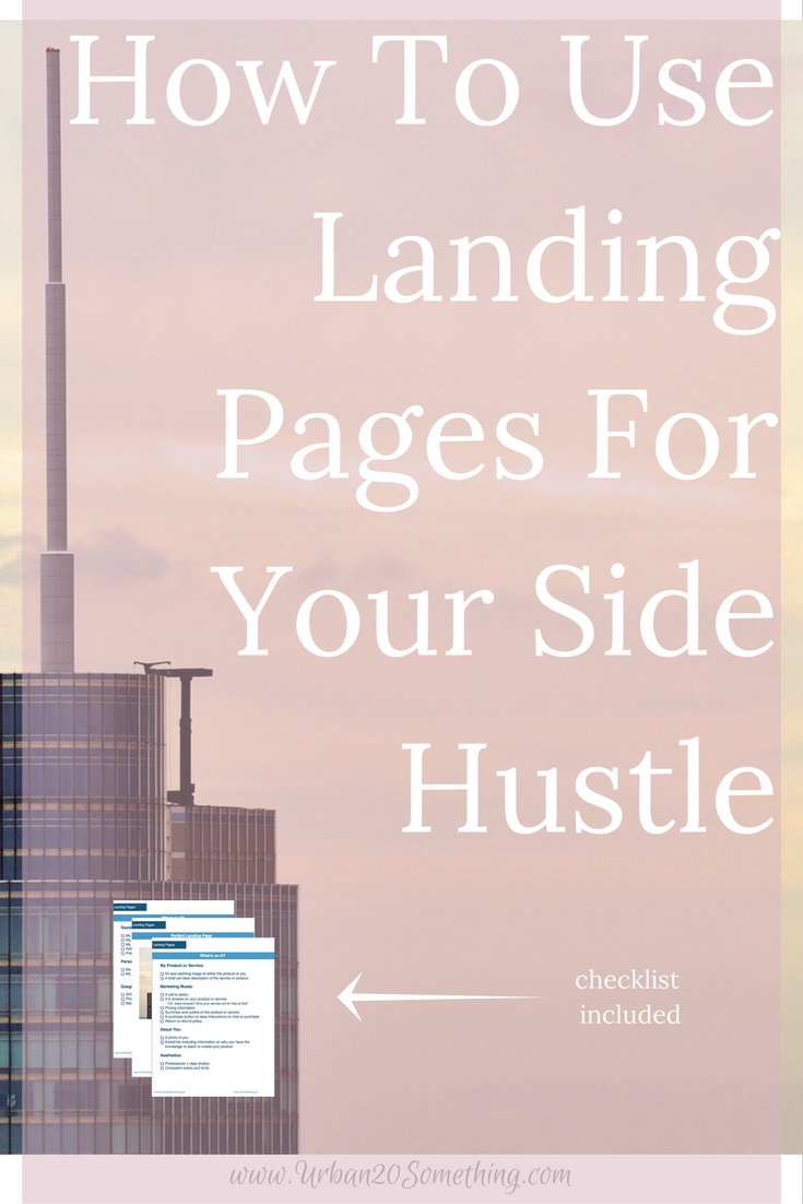 Landing Pages are an excellent digital marketing tool and can help you excel at your side hustle. At first they might seem a little complicated and full of coding. Click through to find out simple ways to create beautiful landing pages and improve your side hustle.