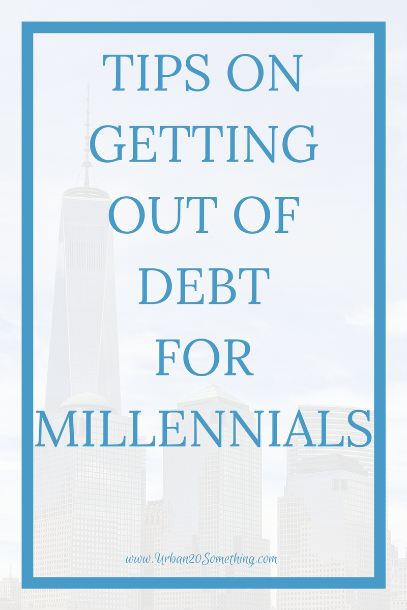 Millennials are facing mountains of debt. Student debt, personal debt, car payments, the list never ends. Here are tips on how millennials in particular can get out of debt.