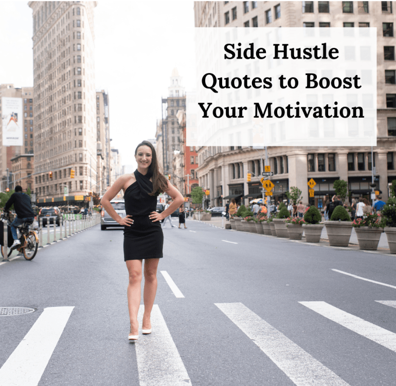 these side hustle quotes will boost your motivation