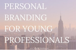 Urban 20 Someone is an online program designed for the personal branding of young professionals. Click through to learn if this is for you!