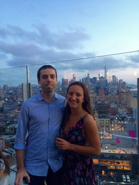 Leah Gervais and Adam Pascarella in New York City