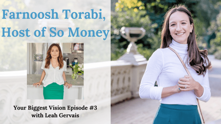 Farnoosh Torabi is the host of the award-winning podcast, So Money. She is a leader in personal finance, female breadwinners, and women and money. Tune in to hear her share how she's built her popular podcast and personal brand.