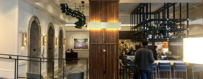 Saint Kate Arts Hotel lobby and bar