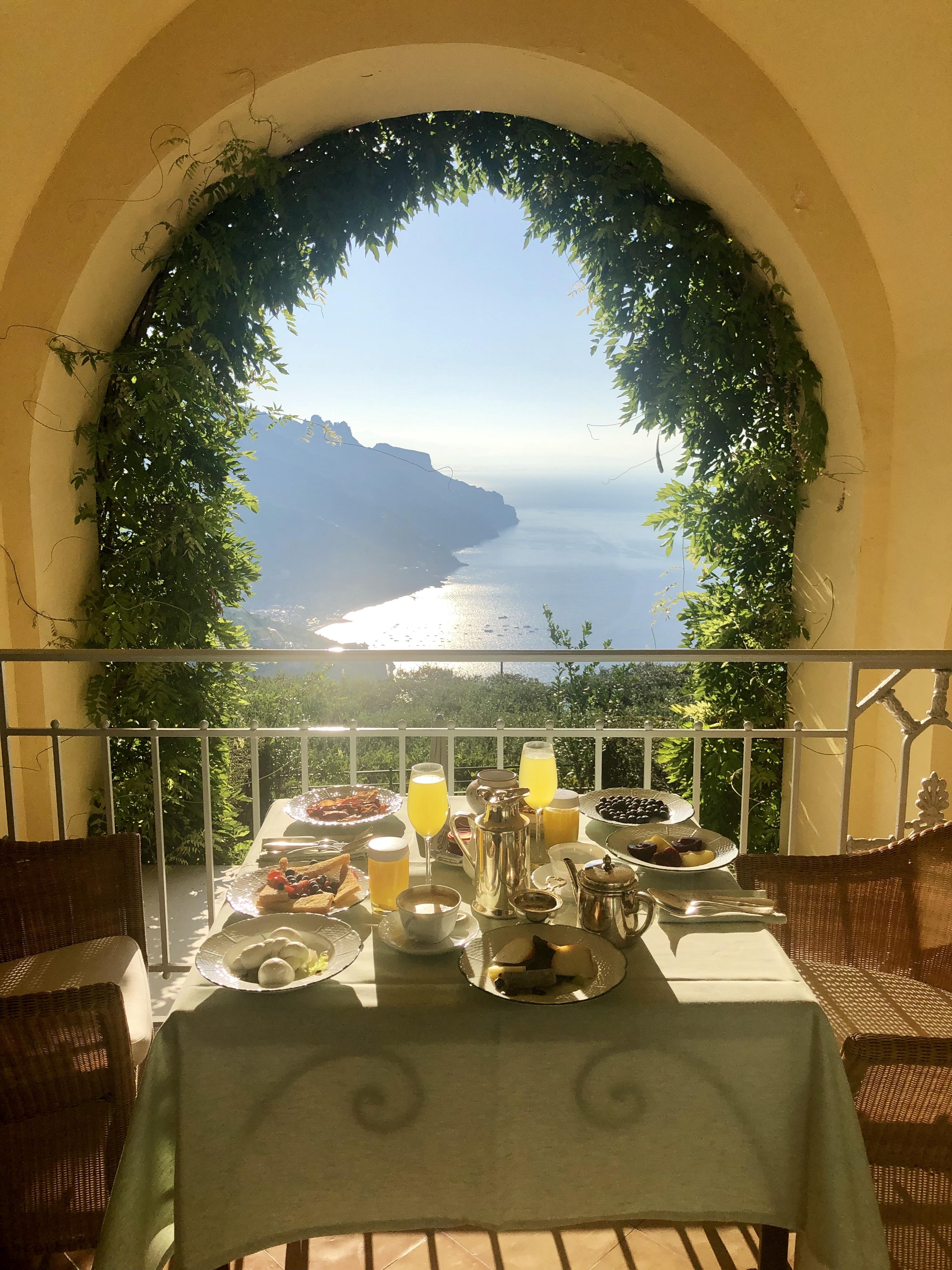 Balcony at the Belmond Hotel Caruso