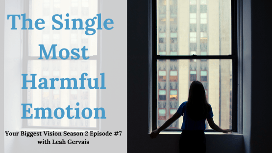 Tune in to hear why guilt could be the culprit for remaining stagnant in your business and my two step process to successfully overcoming feelings of guilt.