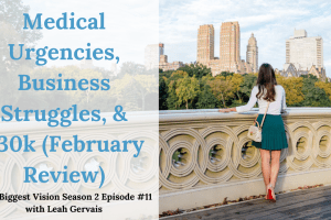 Tune in to episode 11 to hear what the month of February looked like for me in a challenge perspective and how these challenges have pushed business growth.