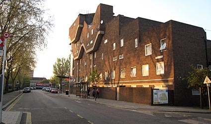Brixton, Barrier Block, Southwyck House, Moorlands Estate, Coldharbour Lane, Brixton SW9, London