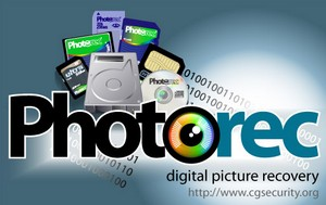 Photorec photograph recovery software