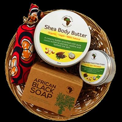 urban africa naturals-shea-butter-cadeauset-shea-boter