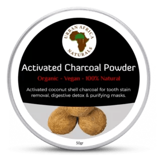 urban africa naturals-actieve-kool - activated charcoal-powder