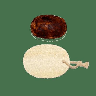 urban africa naturals-african-black-soap-loofah-spons