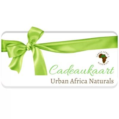 cadeaukaart urban africa naturals cadeaubon