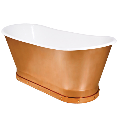 Urban Archaeology Mercer Bathtub Solid Copper Skirt UA0009 68 BT