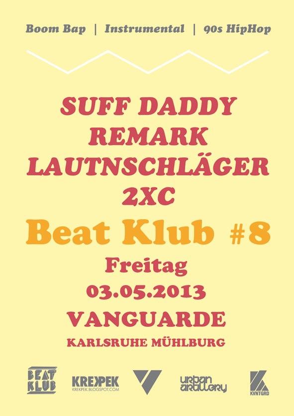 Beat Klub 8 mit Suff Daddy