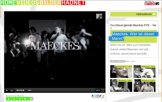 MTV Interview mit Maeckes
