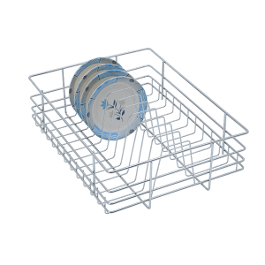 PLATE BASKET (6″ HEIGHT X 21″ WIDTH X 20″ DEPTH) STAINLESS STEEL