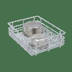 STAINLESS STEEL WIRE BASKET (4″ HEIGHT X 15″ WIDTH X 20″ DEPTH) 6MM WIRE