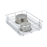 PLAIN DRAWER BASKET (8″ HEIGHT X 21″ WIDTH X 20″ DEPTH) 6MM WIRE STAINLESS STEEL