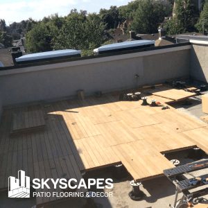Environmental benefits of Skyscapes patio flooring