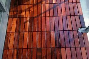 curupay deck tiles installed in a Toronto condo balcony