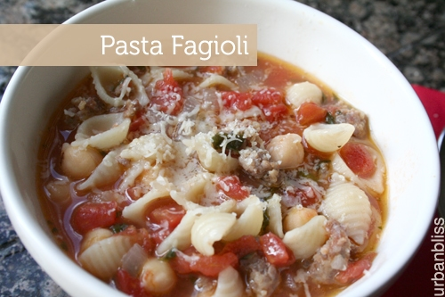 Foodie Friday: Easy Pasta Fagioli Soup Recipe