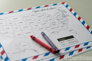 Free Printable Election Night Coloring Map by Urban Bliss