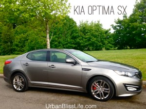Kia Optima SX Review