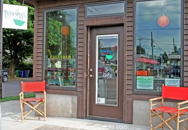 Pairings Portland Wine Shop