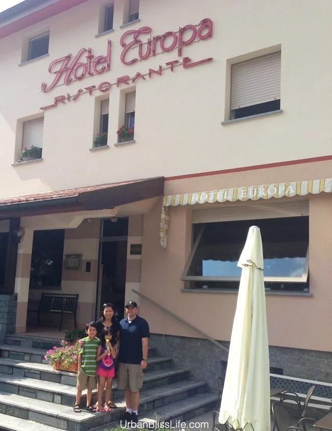 Hotel Europa, Lake Como, Italy