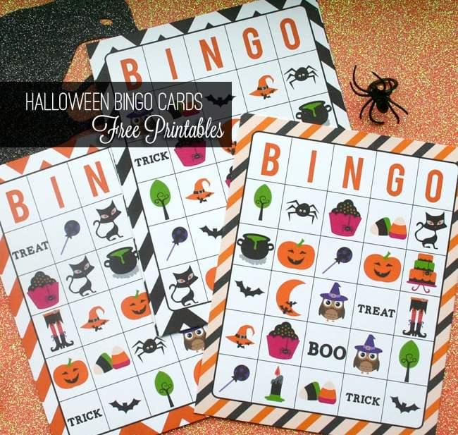 Diy Bliss Free Halloween Bingo Card Printables Urban Bliss Life