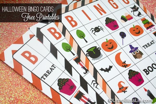 Halloween Bingo Cards Printables 04