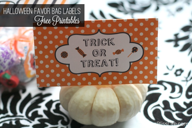 Halloween Favor Bag Labels 02