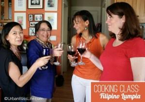 Filipino Lumpia Cooking Class
