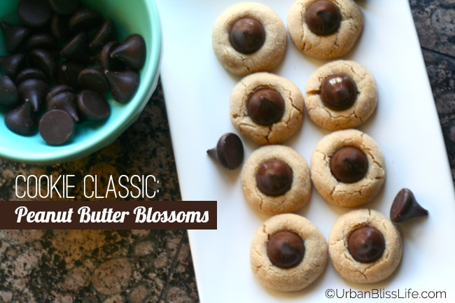Classic Cookie Recipe: Peanut Butter Blossoms