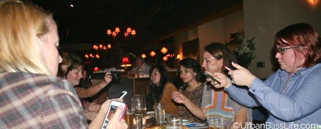 Serratto food bloggers dinner