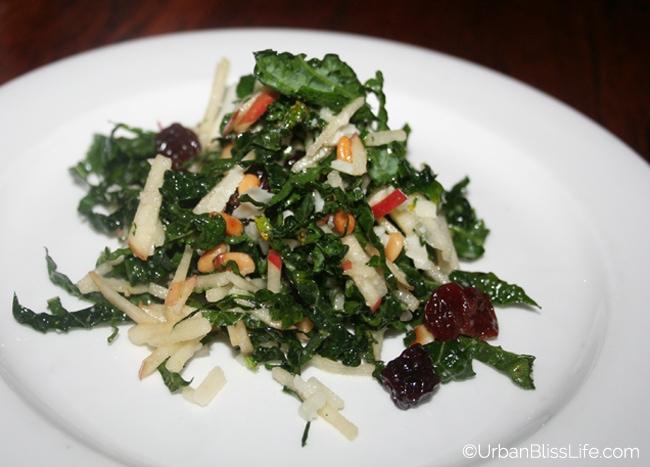 Serratto kale salad