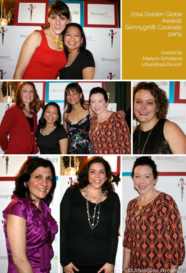 Golden Globes Skinnygirl Red Carpet Pics Collage