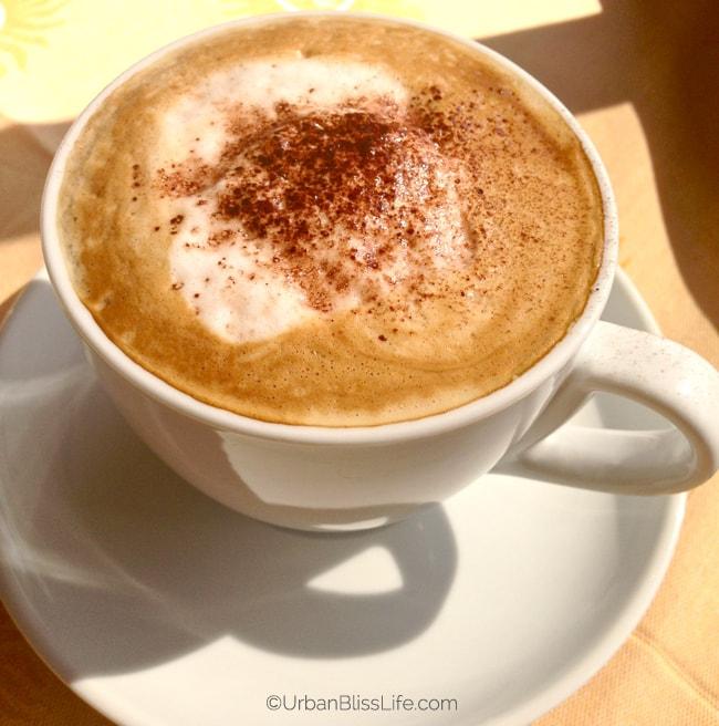Lake Como, Italy - coffee