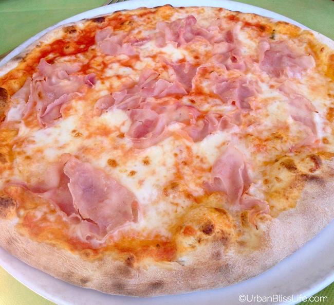 Lake Como, Italy - pizza