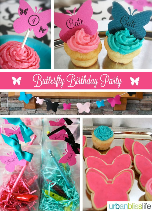 [Party Bliss] Butterfly Birthday Party Ideas