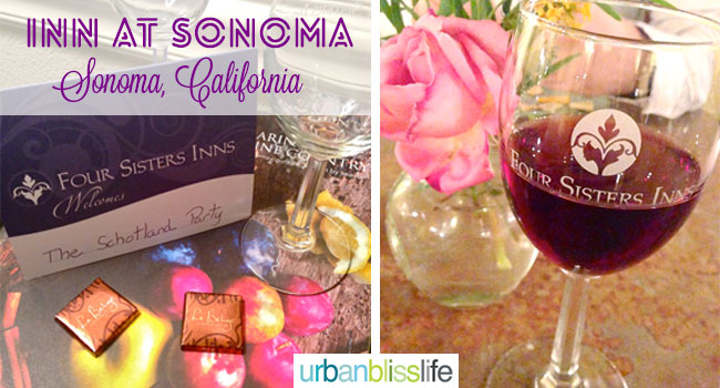 Inn at Sonoma, wine country hotel