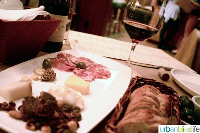The Girl and The Fig Charcuterie Plate.