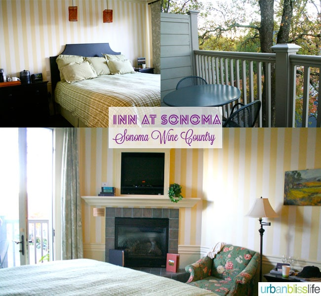 Inn at Sonoma Rooms