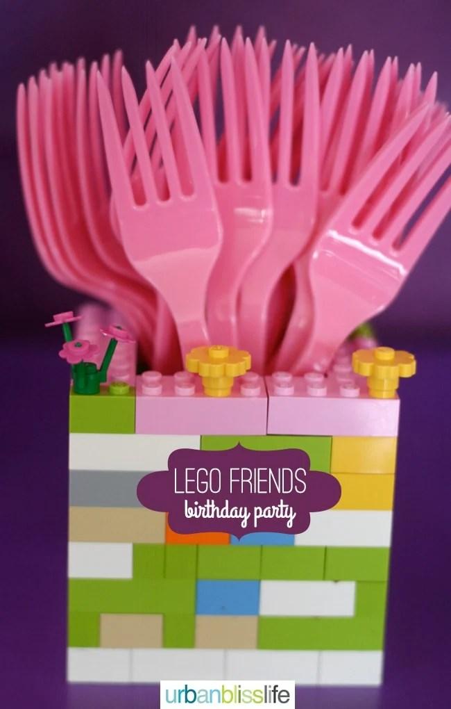 Lego Friends Birthday Party Urban Bliss Life