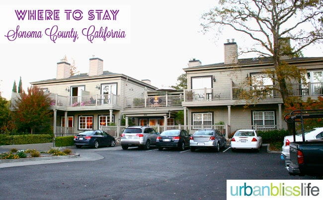 hotel tips for sonoma california