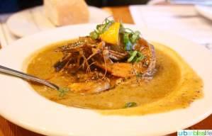 Acadia cajun restaurant Portland, Oregon shrimp