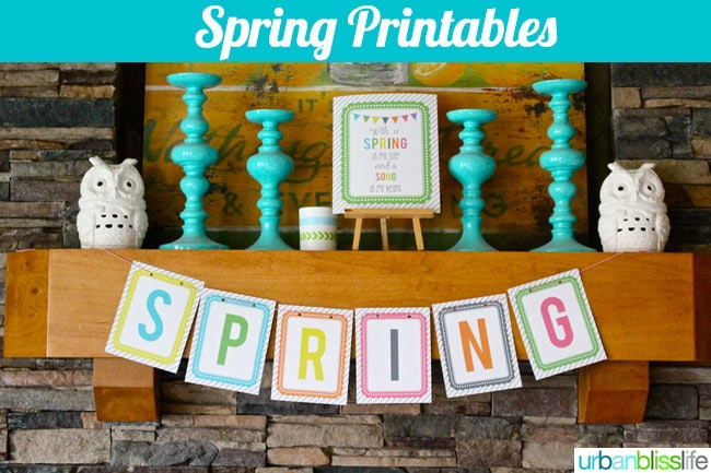 [DIY Bliss] Spring Printables