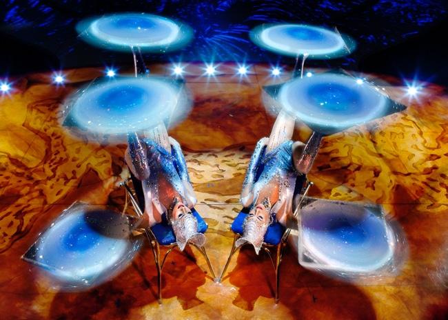 Cirque du Soleil Totem crystal ladies